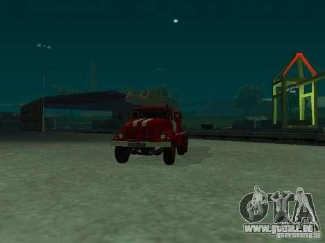 ZIL 131 Al-30 für GTA San Andreas rechten Ansicht
