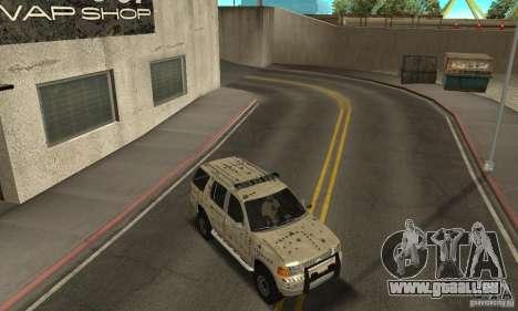 Ford Explorer 2002 pour GTA San Andreas moteur