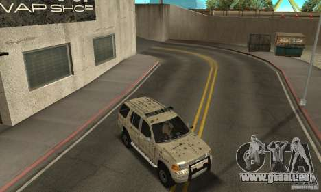 Ford Explorer 2002 für GTA San Andreas Motor