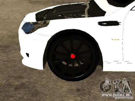 Bmw M5 Ls Ninja Stiil für GTA San Andreas Seitenansicht