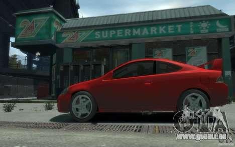 Acura RSX pour GTA 4 Vue arrière de la gauche