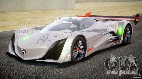 Mazda Furai Concept 2008 für GTA 4 linke Ansicht