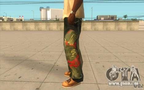 Hip-hop jeans pour GTA San Andreas deuxième écran