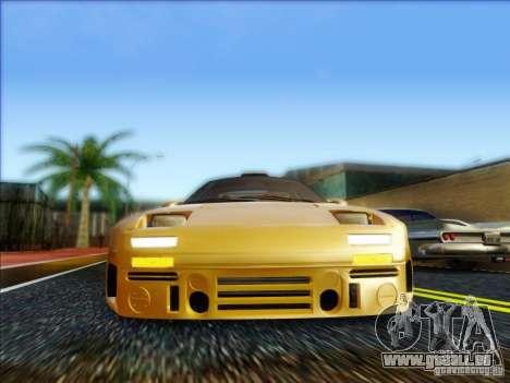 Diablo-Seven pour GTA San Andreas sur la vue arrière gauche