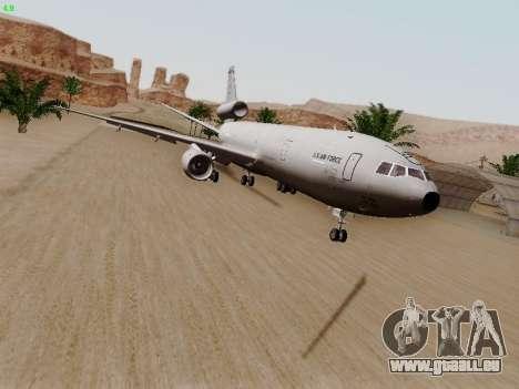 McDonell Douglas KC-10A Extender für GTA San Andreas linke Ansicht