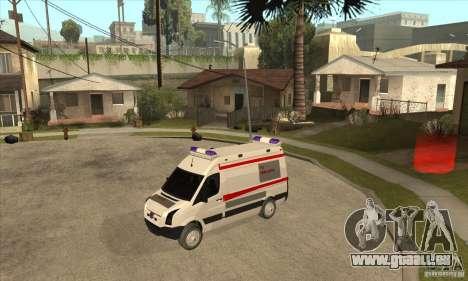 Volkswagen Crafter Ambulance für GTA San Andreas