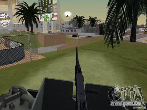 Bottom Feeder für GTA San Andreas Rückansicht