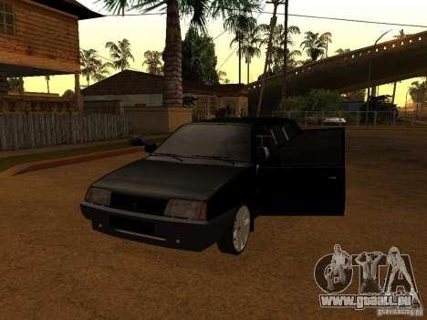 VAZ 21099 Limousine pour GTA San Andreas laissé vue