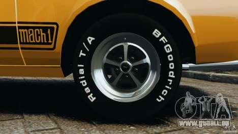 Ford Mustang Mach 1 1973 für GTA 4 obere Ansicht