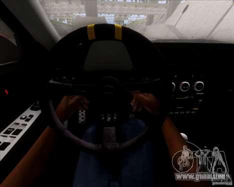 Lexus IS300 Hella Flush pour GTA San Andreas vue de dessous