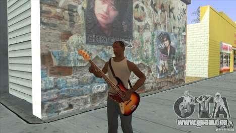 Film-Songs auf der Gitarre für GTA San Andreas zwölften Screenshot