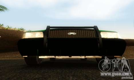 Ford Crown Victoria Vermont Police für GTA San Andreas Rückansicht