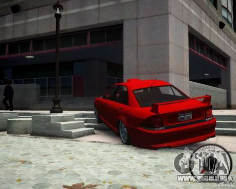 Schafter RS pour GTA 4 Vue arrière de la gauche