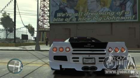Shelby Super Cars Ultimate Aero pour GTA 4 est un droit