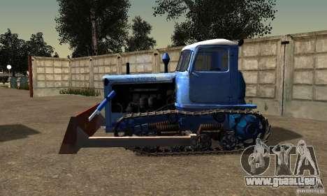 Bouteur du Kazakhstan DT-75 pour GTA San Andreas laissé vue
