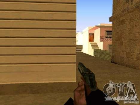 Desert Eagle MW3 pour GTA San Andreas septième écran