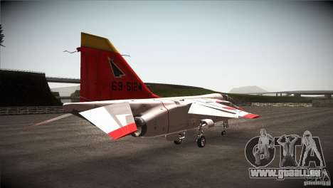 Mitsubishi T-2 für GTA San Andreas rechten Ansicht