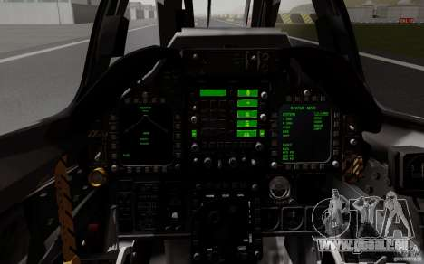McDonnell Douglas A-4AR Fightinghawk pour GTA San Andreas vue arrière