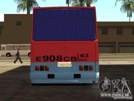 Ikarus 255 für GTA San Andreas rechten Ansicht