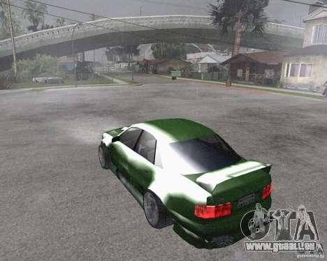 Audi S8 RS Look für GTA San Andreas linke Ansicht