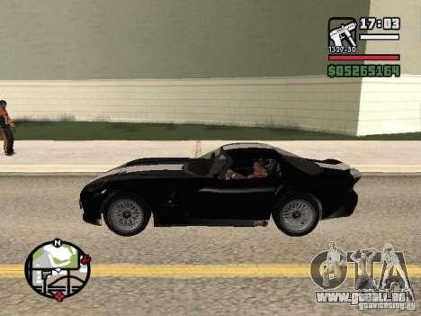 Banshee de GTA IV pour GTA San Andreas laissé vue