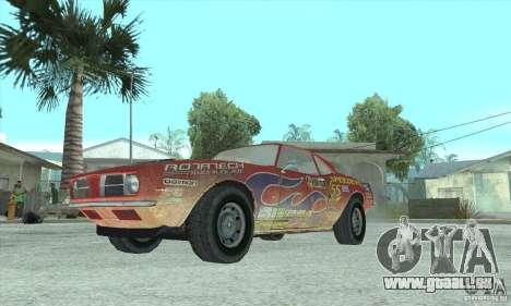 Speedevil de FlatOut pour GTA San Andreas sur la vue arrière gauche