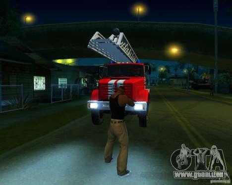 ZIL 4334 Al-30 pour GTA San Andreas laissé vue