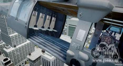 HH-60G Pavehawk für GTA 4 Rückansicht