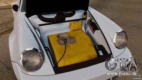 Porsche 911 Carrera RSR 3.0 Coupe 1974 pour GTA 4 est une vue de l'intérieur