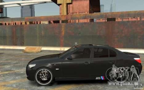 BMW M5 Hamman pour GTA 4 est une gauche