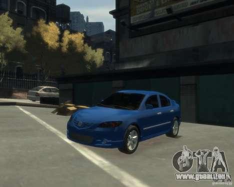 Mazda 3 sedan 2008 pour GTA 4