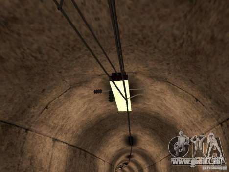 Haute vitesse de la ligne de chemin de fer pour GTA San Andreas troisième écran