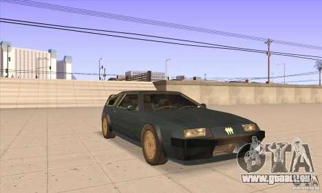 Deluxo HD pour GTA San Andreas vue arrière