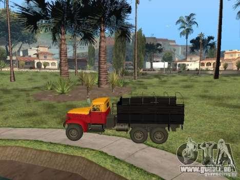 YAZ 214 für GTA San Andreas rechten Ansicht