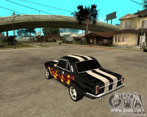 GAZ 2410 Camaro Edition für GTA San Andreas linke Ansicht