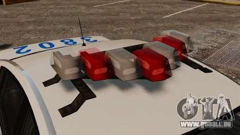 Police Pinnacle ESPA pour GTA 4 Vue arrière