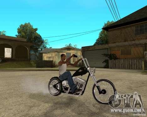 C&C chopeur pour GTA San Andreas vue de droite