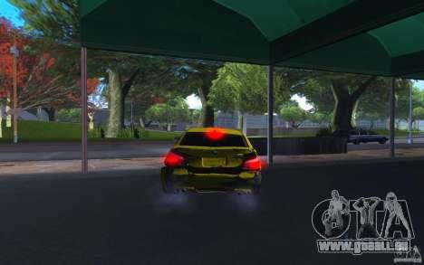 BMW M5 Gold Edition pour GTA San Andreas vue de côté