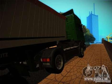 Scania R580 pour GTA San Andreas laissé vue