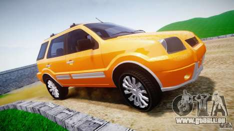 Ford EcoSport pour GTA 4