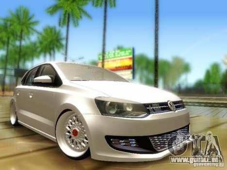 Volkswagen Polo 6R TSI Edit pour GTA San Andreas