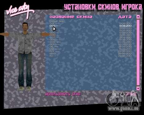 Graues shirt für GTA Vice City siebten Screenshot