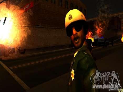 Difficulté des Animations faciales pour GTA San Andreas deuxième écran