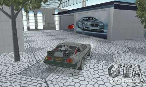 DeLorean DMC-12 (BTTF2) für GTA San Andreas linke Ansicht