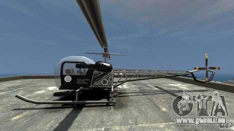 Sparrow Hilator für GTA 4 linke Ansicht