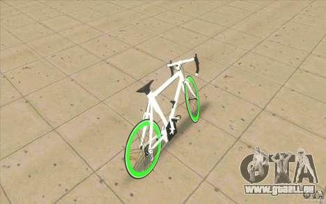 Fixie Bike für GTA San Andreas zurück linke Ansicht