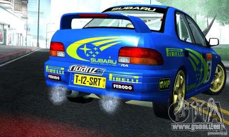 Subaru Impreza 1995 World Rally ChampionShip pour GTA San Andreas vue de droite