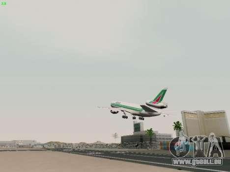McDonell Douglas DC-10-30 Alitalia pour GTA San Andreas vue de côté
