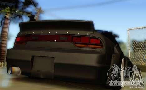 Nissan 240SX Rocket Bunny für GTA San Andreas zurück linke Ansicht