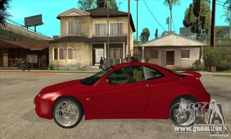 Alfa Romeo GTV pour GTA San Andreas laissé vue